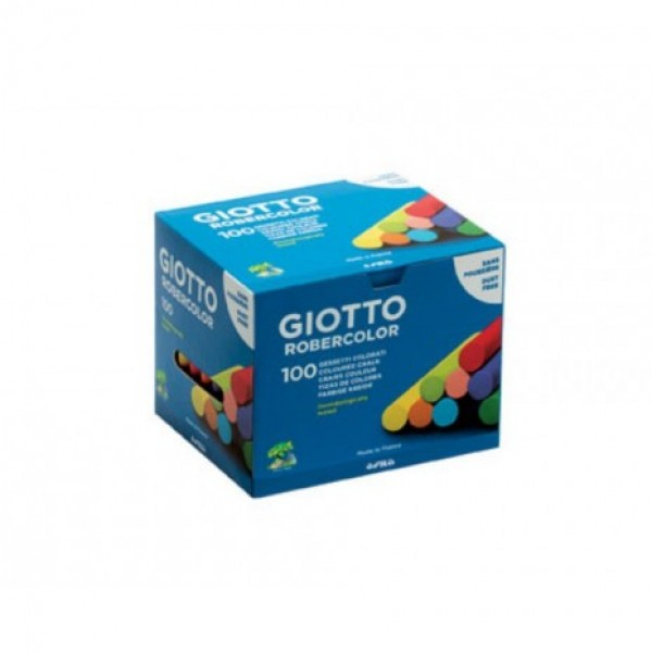 Κιμωλίες Χρωματιστές Giotto 100 τμχ
