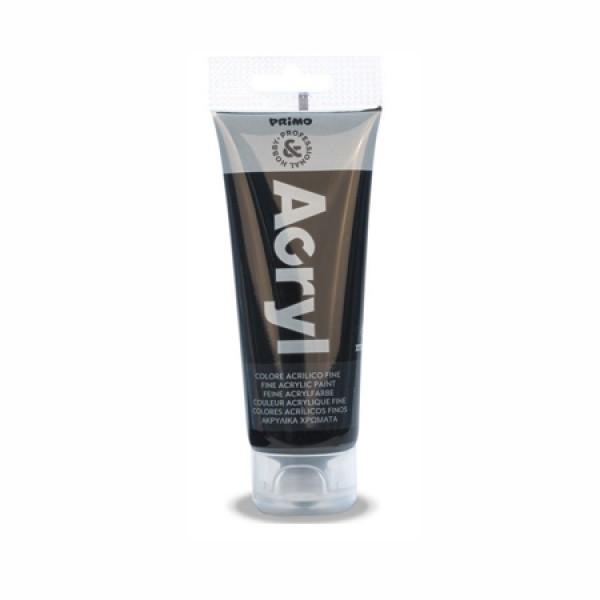 Ακρυλικό Χρώμα Acryl Black 75ml Primo