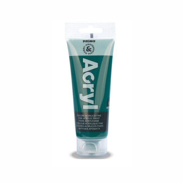 Ακρυλικό Χρώμα Acryl Emerald Green 75ml Primo