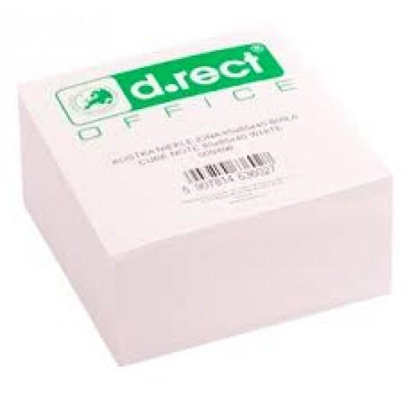 Κύβος Σημειώσεων Λευκού Χρώματος D.rect
