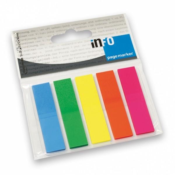 Σελιδοδείκτες σε 5 Χρώματα Info