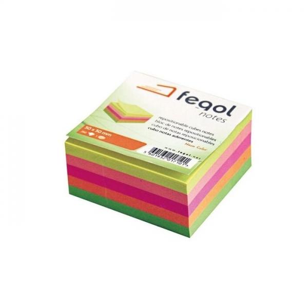 Αυτοκόλλητες Σημειώσεις 50x50mm Fegol