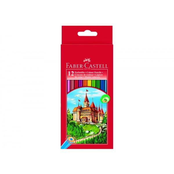 Ξυλομπογιές Faber Castell (12 Τεμάχια)