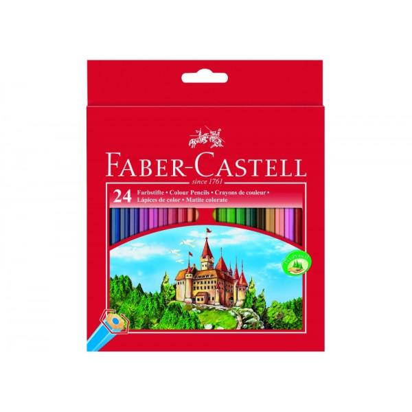 Ξυλομπογιές Faber Castell (24 Τεμάχια)