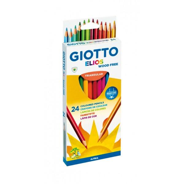 Ξυλομπογιές Giotto Elios (24 Τεμάχια)