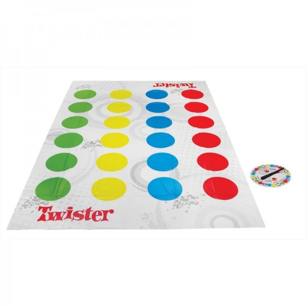 Επιτραπέζιο Παιχνίδι Twister Hasbro