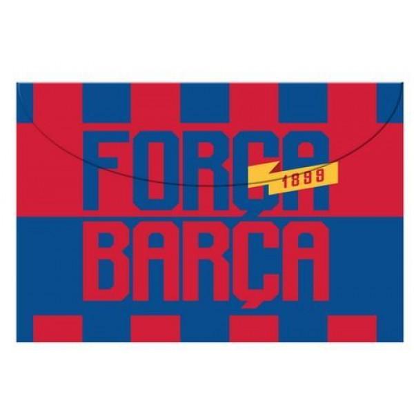 Φάκελος με Κουμπί Α4 Βarcelona