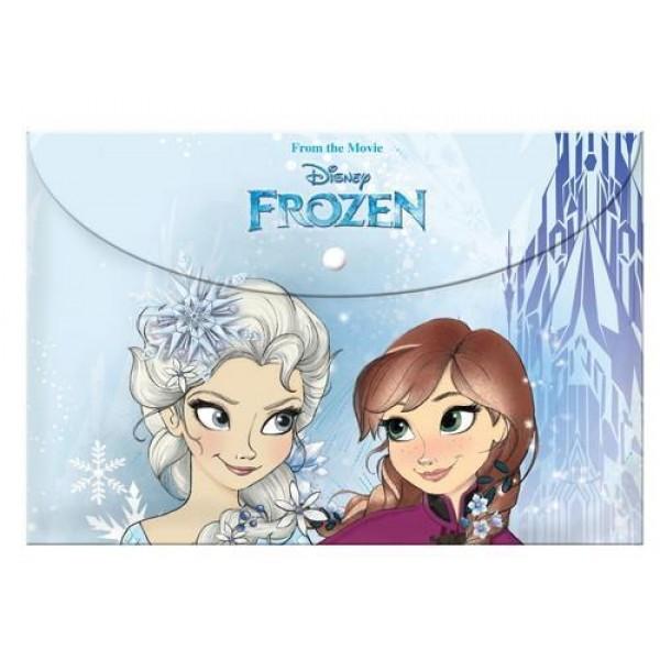 Φάκελος με Κουμπί Α4 Frozen
