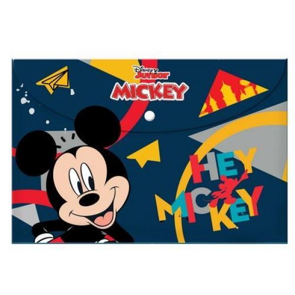 Φάκελος με Κουμπί Α4 Mickey