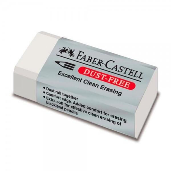Γόμα Λευκή Dust-free Faber Castell
