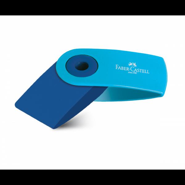 Γόμα Sleeve Mini Μπλε Faber Castell