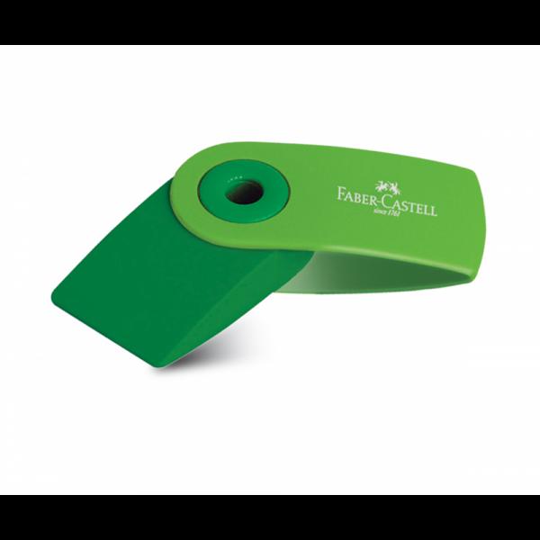 Γόμα Sleeve Mini Πράσινη Faber Castell