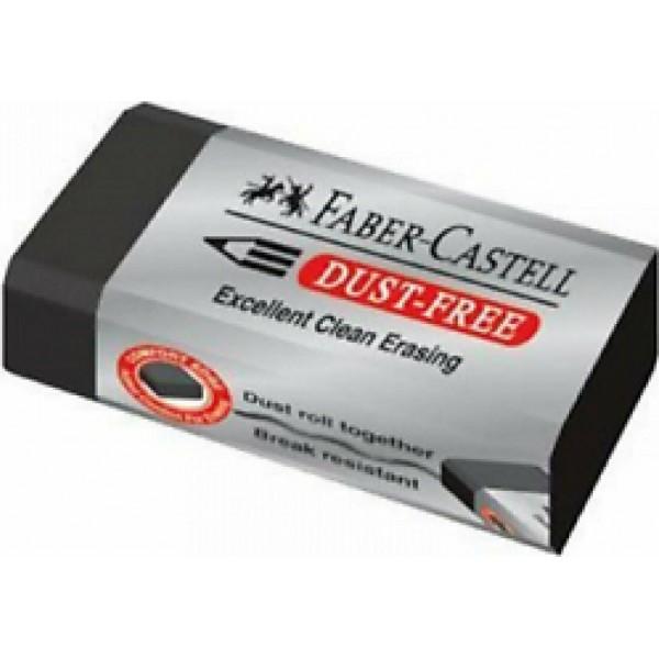 Γόμα Μάυρη Dust Free Faber-Castell