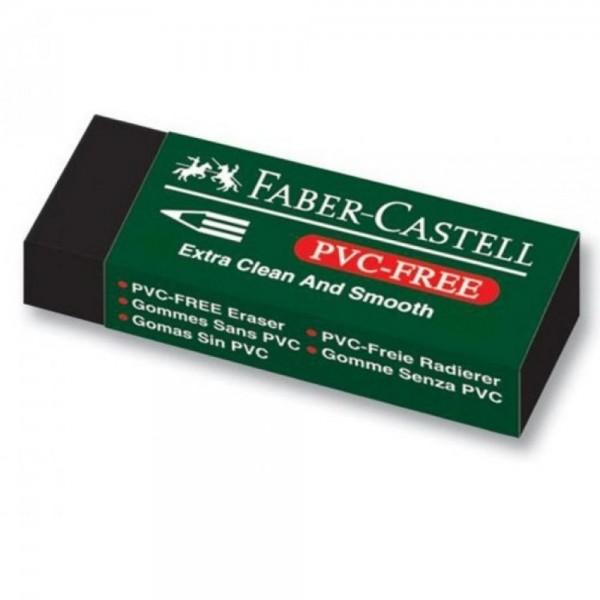 Γόμα Vinyl Μαύρη Faber Castell