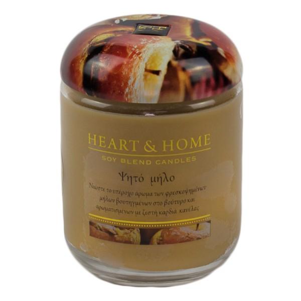 Αρωματικό κερί - Ψητό Μήλο HEART&HOME