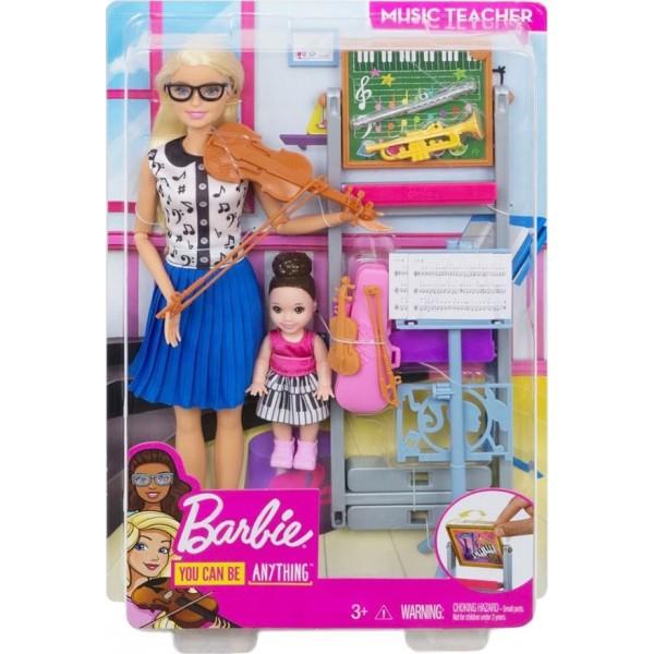 Κούκλα Barbie Δασκάλα Μουσικής