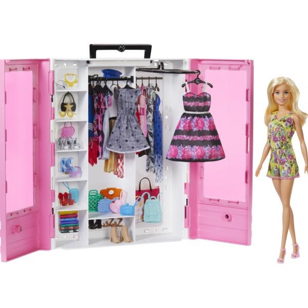 Νέα Ντουλάπα Barbie Με Κούκλα