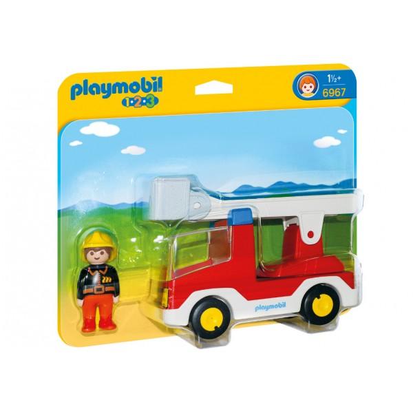Playmobil 6967 Πυροσβέστης με κλιμακοφόρο όχημα