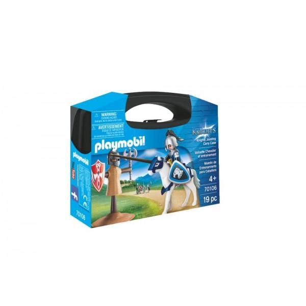 Playmobil 70106 Βαλιτσάκι Εξάσκηση Κονταρομαχίας