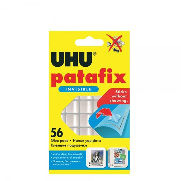 Αυτοκόλλητα Διπλής Όψης Patafix Invisible UHU