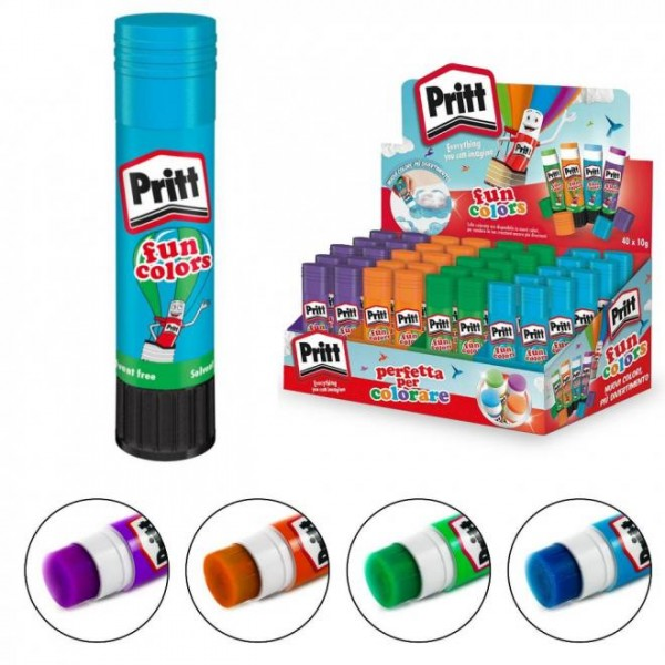 Κόλλα Stick Fun Colors 10gr Pritt