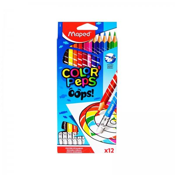 Ξυλομπογιές Maped Color Peps Oops 12τμχ