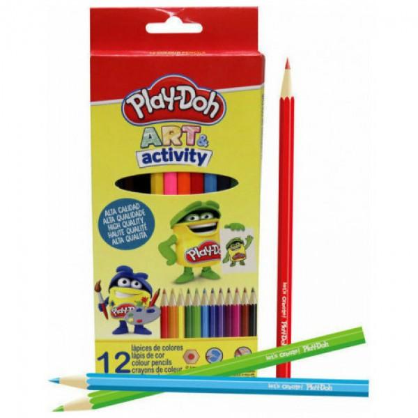 Ξυλομπογιές Play-doh 12τμχ