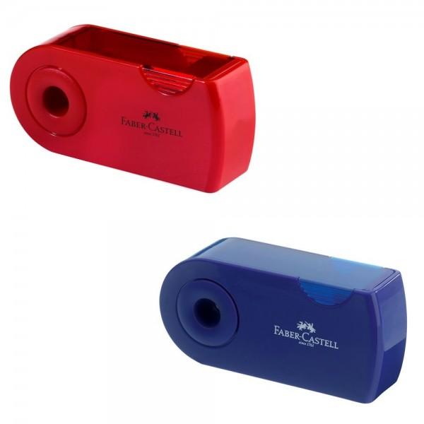 Ξύστρα Διπλή Sleeve Blue-Red Faber Castell