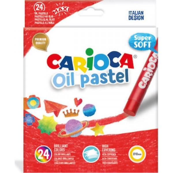 Λαδοπαστέλ oil-pastel Carioca 24 τμχ