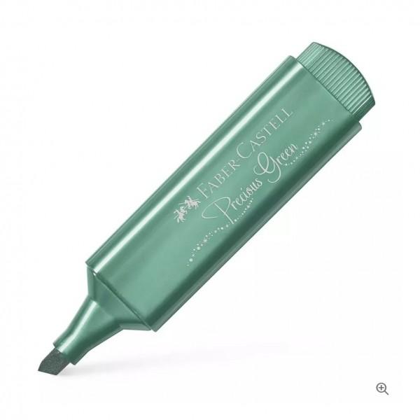 Μαρκαδόρος Υπογράμμισης Faber Castell Metallic Green