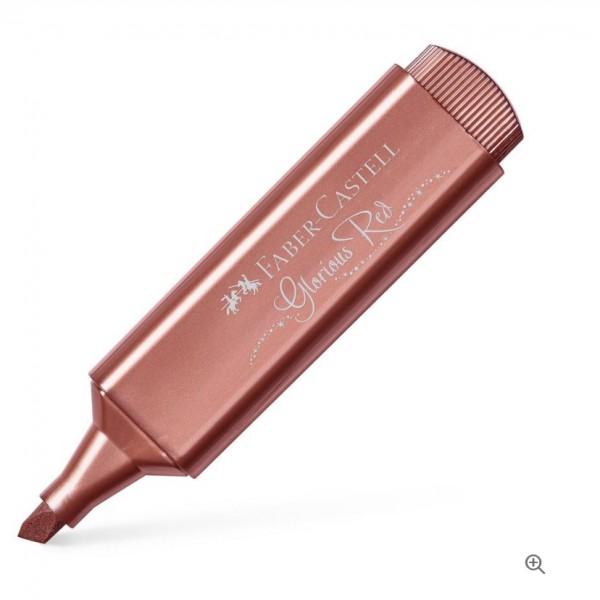 Μαρκαδόρος Υπογράμμισης Faber Castell Glorious Red