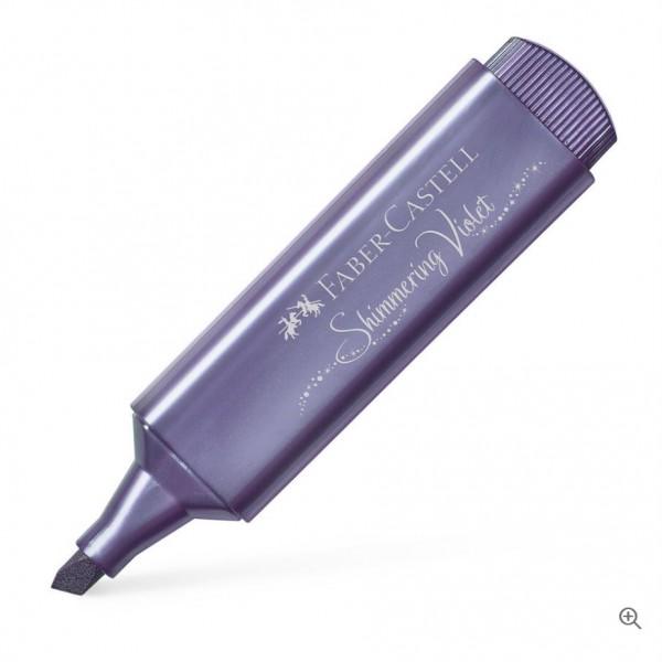 Μαρκαδόρος Υπογράμμισης Faber Castell Shimmering Violet