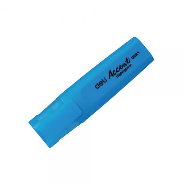 Μαρκαδόρος Υπογράμμισης Μπλε Deli Accent