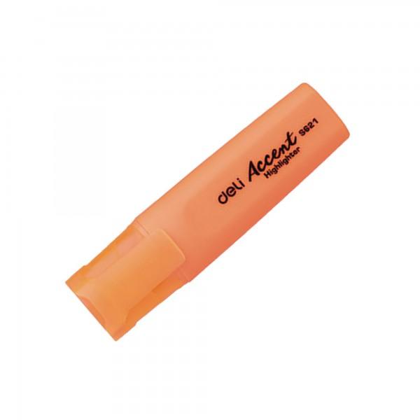 Μαρκαδόρος Υπογράμμισης Πορτοκαλί Deli Accent