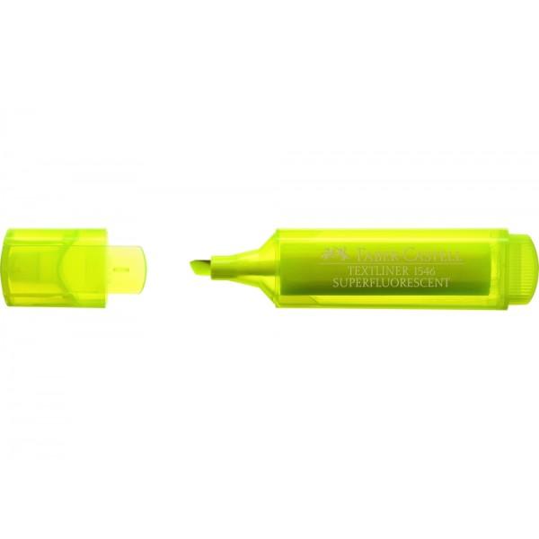 Μαρκαδόρος Υπογράμμισης Faber Castell Superfluorescent 1546 Κίτρινος