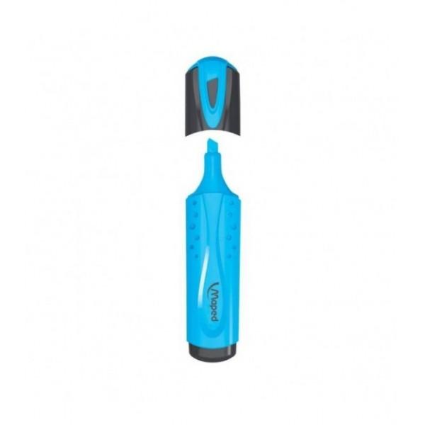 Μαρκαδόρος Υπογράμμισης Mπλε Maped Fluo Pep's Classic