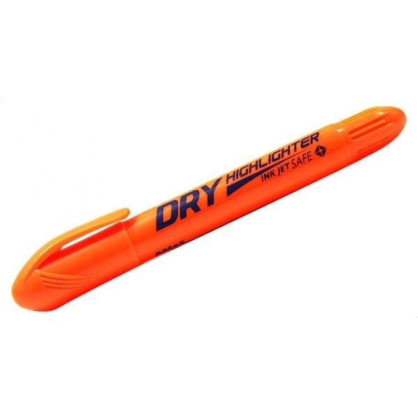 Μαρκαδόρος Υπογραμμίσεως Amos Dry Highlighter Πορτοκαλί