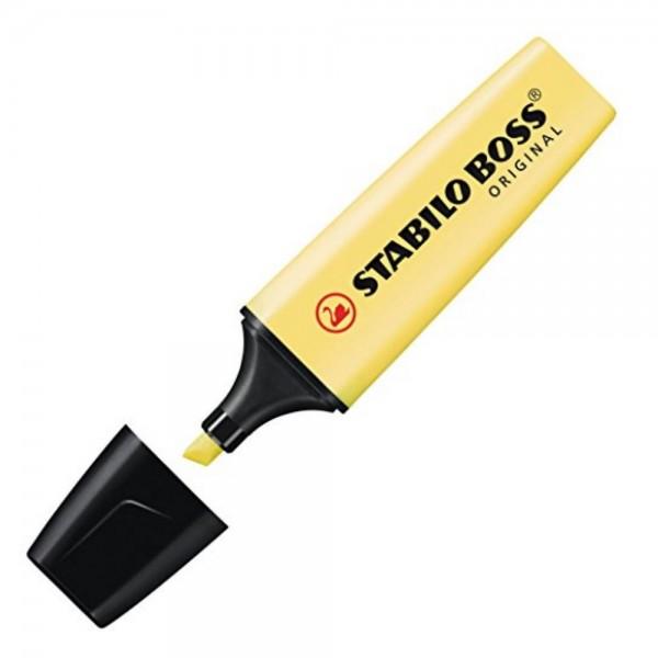 Μαρκαδόρος Υπογραμμίσεως Pastel Κίτρινος 70/144 Stabilo Boss