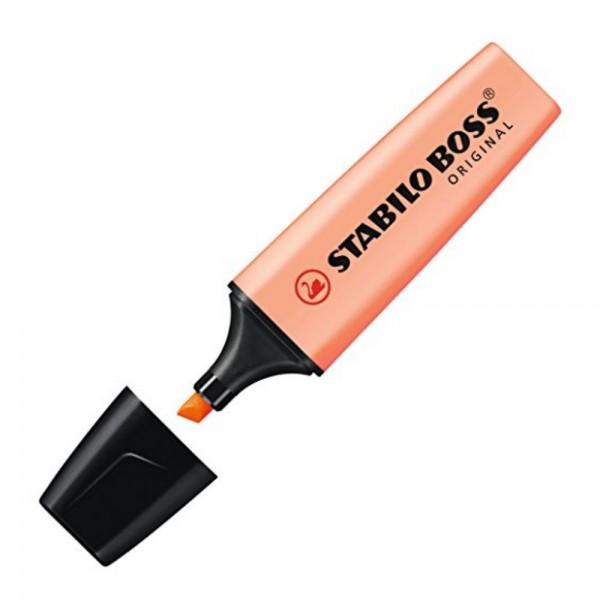 Μαρκαδόρος Υπογραμμίσεως Pastel Πορτοκαλί 70/126 Stabilo Boss
