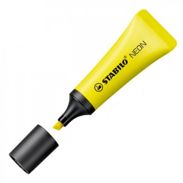 Μαρκαδόρος Yπογραμμίσεως Neon Κίτρινος 72/24 Stabilo