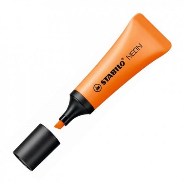 Μαρκαδόρος Yπογραμμίσεως Neon Πορτοκαλί 72/54 Stabilo