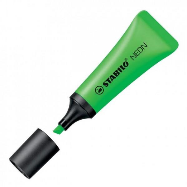 Μαρκαδόρος Yπογραμμίσεως Neon Πράσινος 72/33 Stabilo