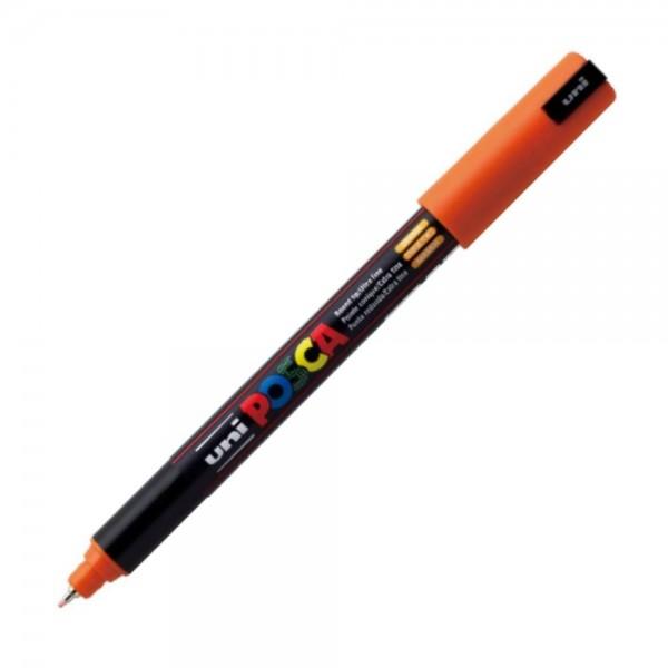 Μαρκαδόρος Posca PC-1MR Πορτοκαλί Uni