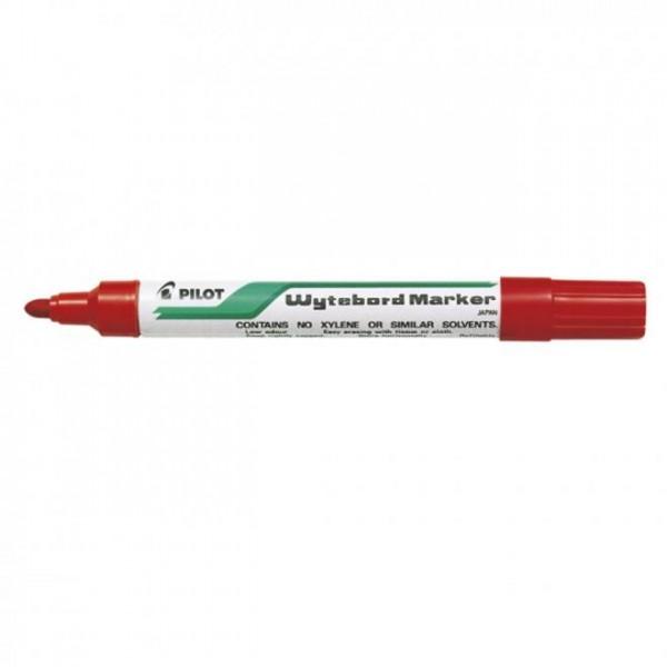 Μαρκαδόρος Πίνακα Κόκκινος Whiteboard Marker Pilot