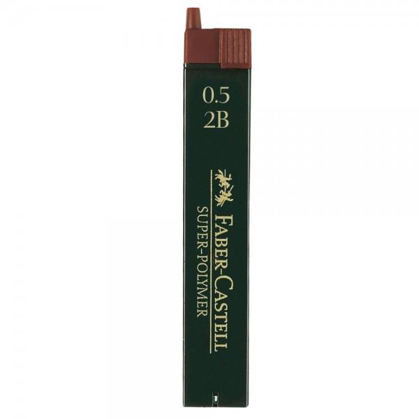 Μύτες Mολυβιών 0.5mm. 2B Faber Castell