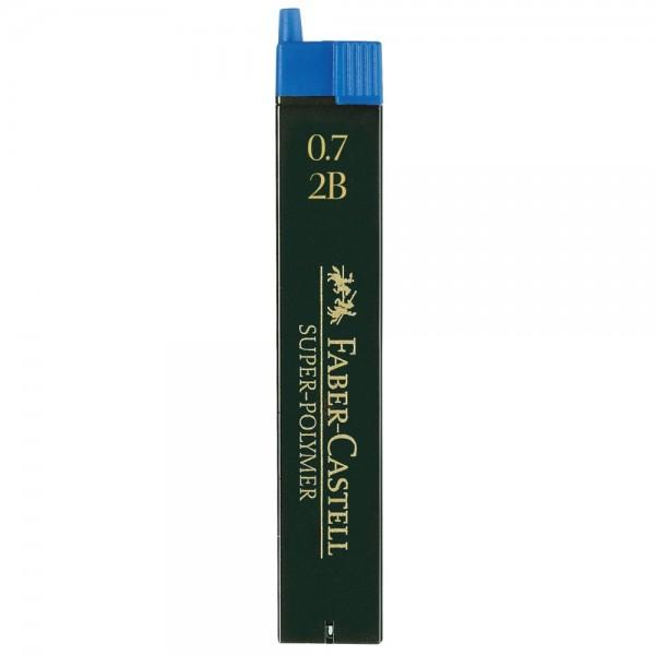 Μύτες Mολυβιών 0.7mm. 2B Faber Castell