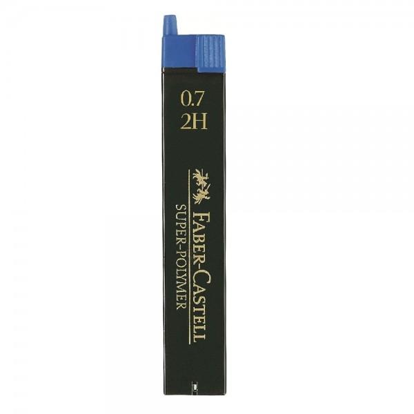 Μύτες Mολυβιών 0.7mm. 2H Faber Castell