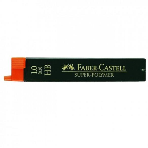 Μύτες Mολυβιών 1mm. HB Faber Castell
