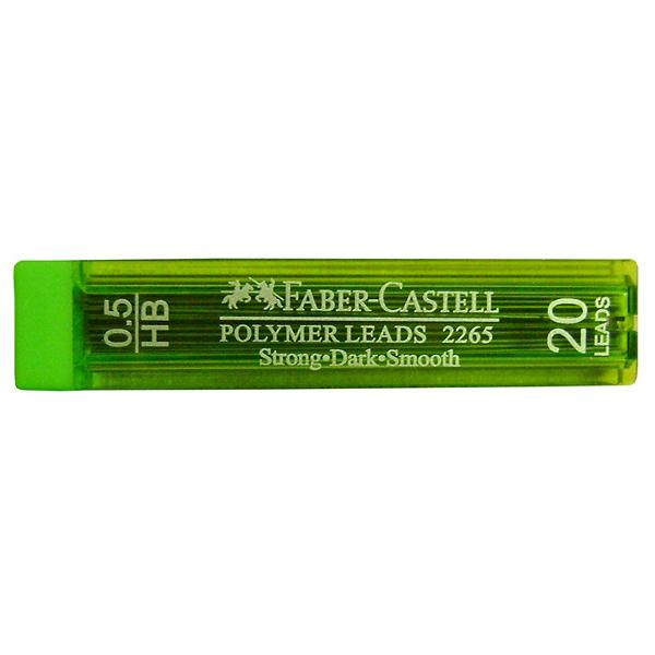 Μύτες Μηχανικών Μολυβιών ΗB 0.5mm Polymer 20 τμχ Faber Castell