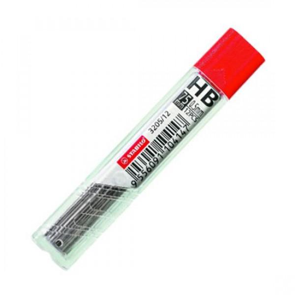 Μύτες Μηχανικών Μολυβιών HB 0.5mm Hi-Polymer 12τμχ Stabilo